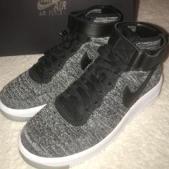 Zapatos Nike Mujeres Air Force 1 Zapatillas Af1 Flyknit Zapatillas 1 Poshmark Oreo 30f1f0